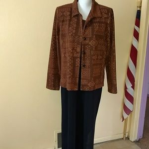 Coldwater Creek long dress with jacket size 16
